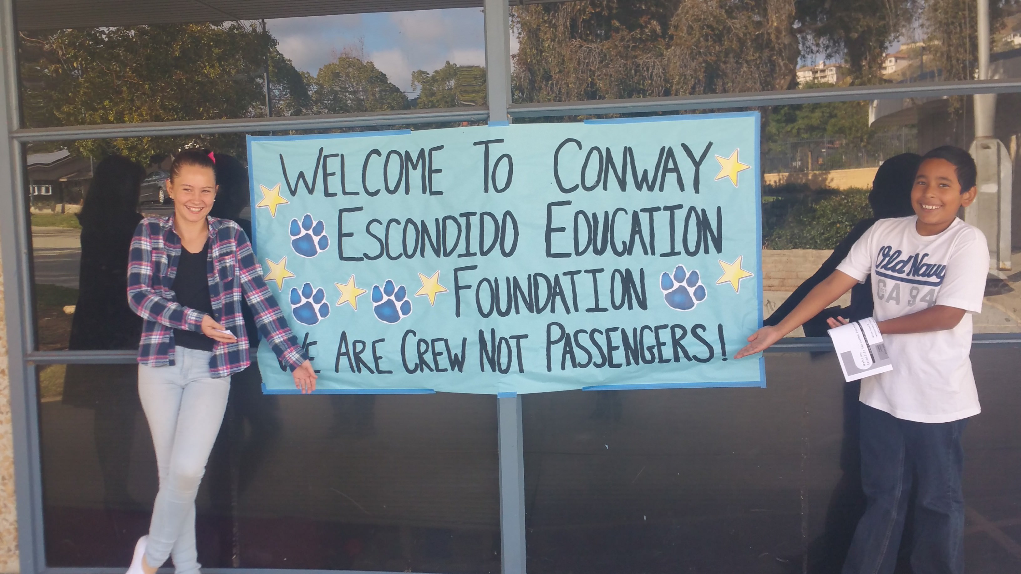 EEF Tours Conway Elementary