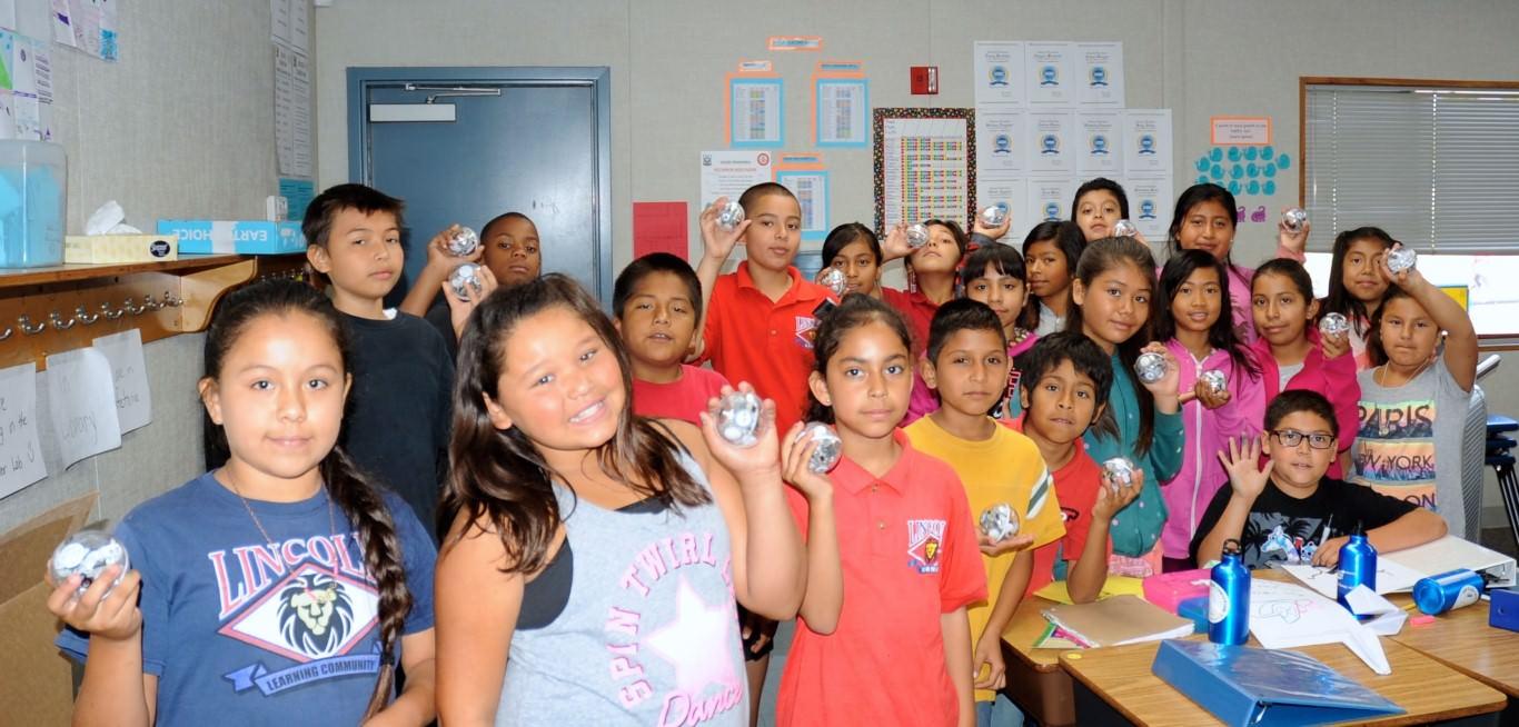 Lincoln Elementary Sphero SPRKS