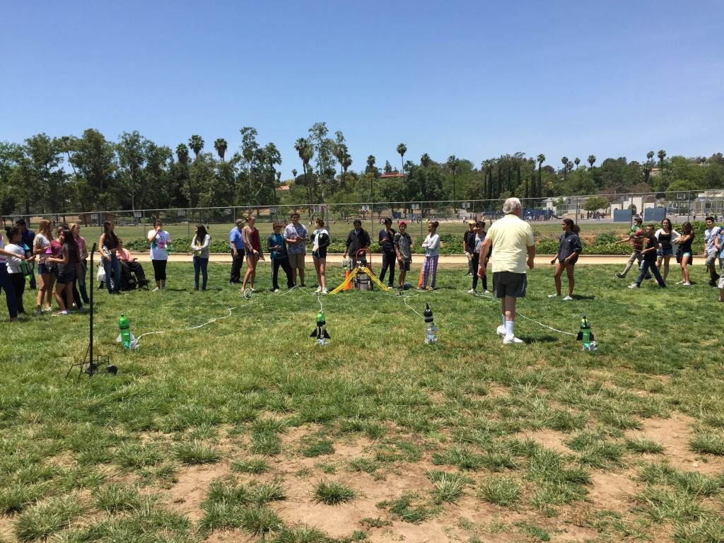 Rocket Launch Project at BEAR VALLEY MIDDLE SCHOOL