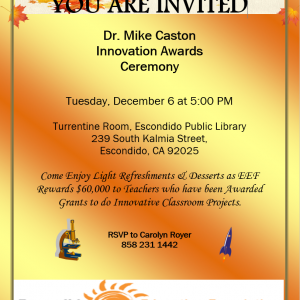 You're Invited – December 6, 2016