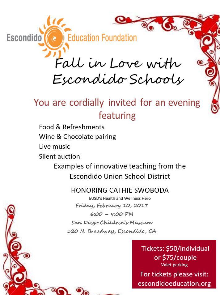 Fall In Love With Escondido Schools
