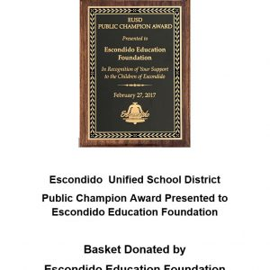 Honored By EUSD